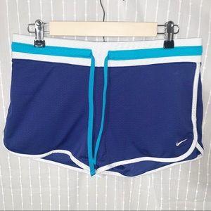2 Pairs Nike Mesh Vintage Gym Shorts